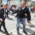 Nigel Farage milkshake attack: Man charged with common assault and criminal damage after drink is thrown at Brexit Party leader