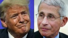 Lincoln Project ad defends Dr Fauci as White House disavows attacks on coronavirus adviser