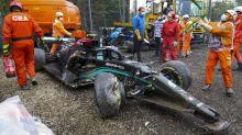 F1 - GP d'Émilie-Romagne - Les images spectaculaires de l'accident entre Valtteri Bottas et George Russell à Imola