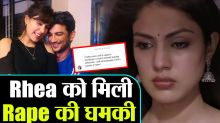 Rhea Chakraborty gets Life threats on Social Media , Sushant fans are angry on her