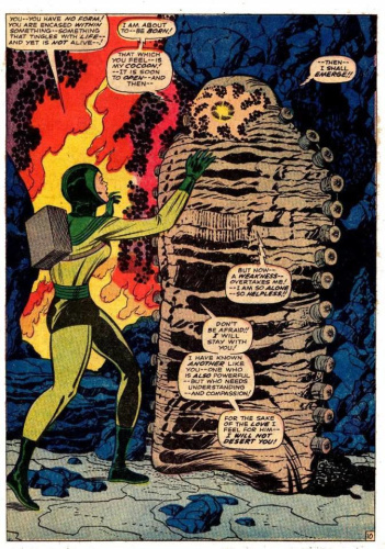 Adam Warlock Cocoon Marvel Comics