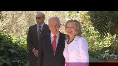 Clinton in talks with Israeli leaders