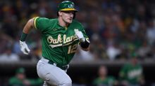 A's lose to Padres, fall six games behind Astros in AL West