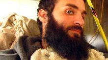 Man Raises Duckling in His Beard