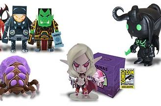 Exclusive Blizzard merchandise available at San Diego Comic Con