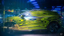 Volkswagen teases the ID.3's larger EV sibling