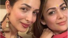 Amrita Arora Reacts to Sister Malaika's Covid Positive Report Being Leaked