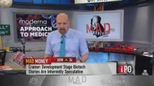 Cramer: Don't judge biotech Moderna on stock's post-IPO d...