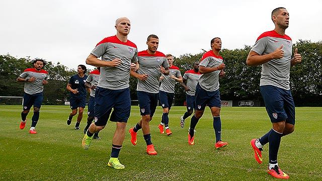 USMNT begins in Brazil without its head coach