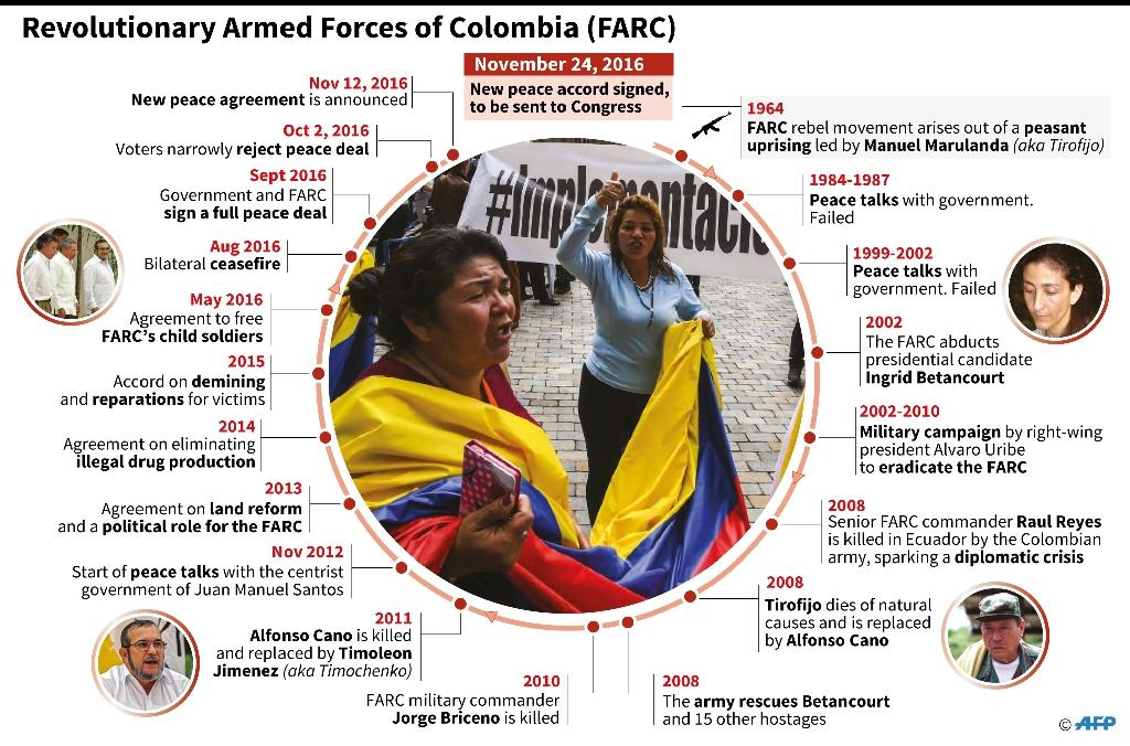 Revolutionary Armed Forces of Colombia (FARC) (AFP Photo/Gal Roma)