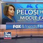Pelosi defies Trump, leads bipartisan delegation on surprise trip to Jordan