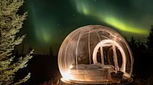 Unique 'bubble' hotel under the Icelandic starscape is total holiday goals
