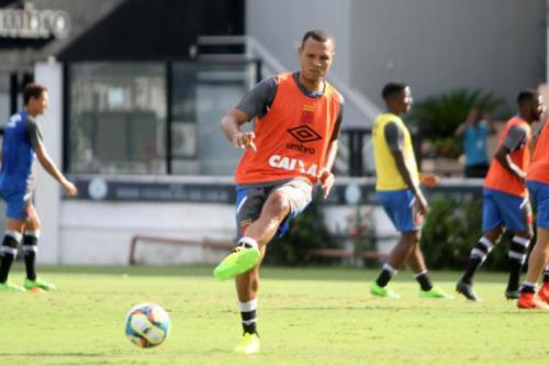 Luis Fabiano conta que deve fazer sua estreia pelo Vasco neste domingo