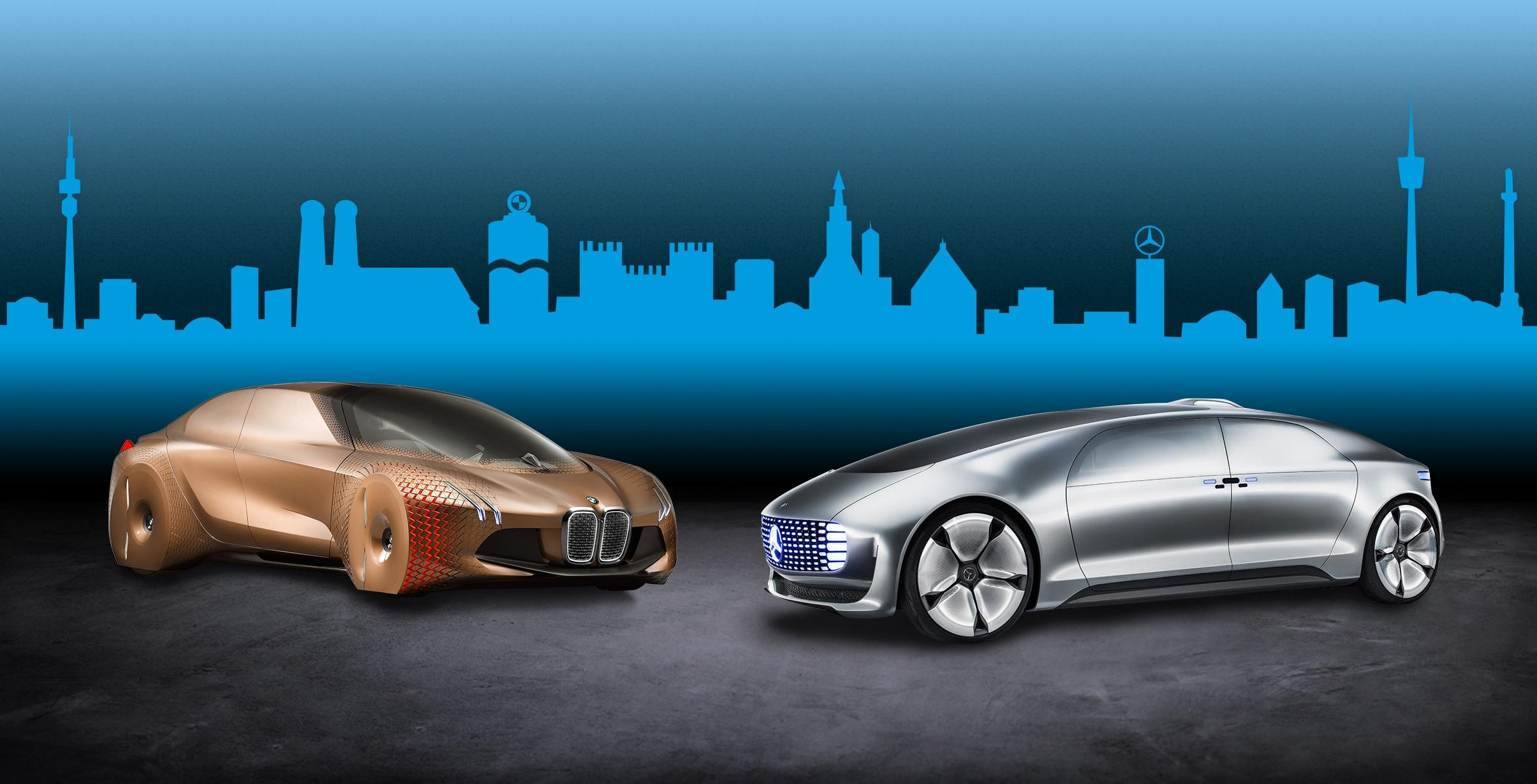 BMW and Daimler are teaming up to develop almost autonomous vehicles