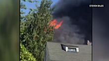 Dramatic video of rescues as fire engulfs Tacoma, Wash., home