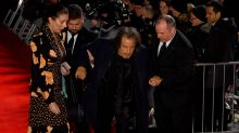 BAFTAs 2020: Al Pacino helped to his feet after red carpet fall as Brad Pitt misses ceremony