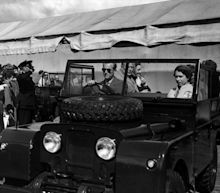 Army engineers began preparing Prince Philip's Land Rover hearse after hospital stay