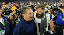 Julian Edelman expertly trolls Bill Belichick while celebrating Patriots' win
