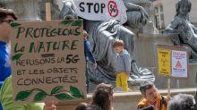 5G: les ONG environnementales dénoncent un renoncement d'Emmanuel Macron sur la Convention climat