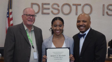 This student was stripped of her valedictorian title — and it may have cost her a year of college tuition