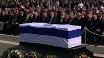 Biden, Blair Join Sharon Mourners
