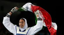 Iran's Only Female Olympic Medalist Says She Has Permanently Left The Country