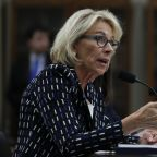 Education Secretary Betsy DeVos grilled on Trump's budget plan