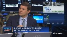 Judge approves Tesla CEO Elon Musk's settlement with SEC