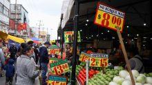 Inflación de México se acelera más de lo esperado en 1ra mitad de octubre