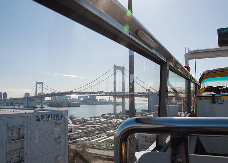 從遠處望去也美到令人屏息的彩虹大橋