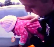 Police officers save life of choking baby in body camera footage