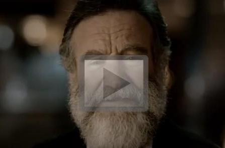 Ocarina of Time 3DS ad starring Robin Williams, his daughter, and a tremendous beard