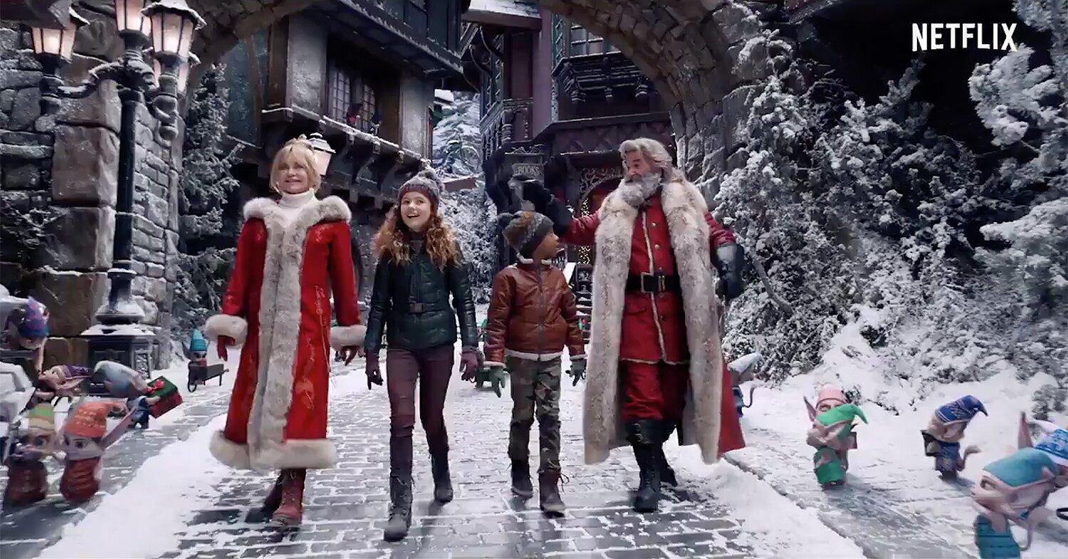 Kurt Russell And Goldie Hawn Are Back As Santa And Mrs Claus In Christmas Chronicles 2 Trailer