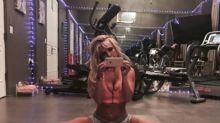 Britney Spears regresa al gimnasio y muestra sus habilidades
