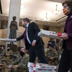 National Guard asks public to halt donations for Capitol troops