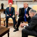Trump 'tantrum' threatens US government shutdown