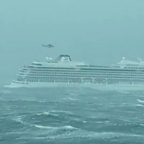 Passengers lifted one-by-one from cruise ship that lost power near Norwegian coast after mayday call