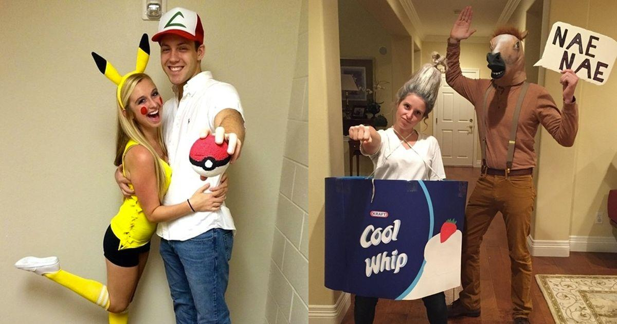 33 Absolutely GENIUS Halloween Costume Ideas For Couples And ...