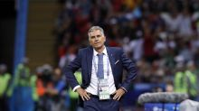 The Latest: Queiroz hoping to inspire Iran squad with 3 Rs