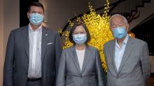 Taiwan pledges deeper U.S. ties as Chinese jets harry island