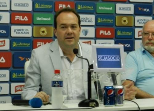 Carlos Arini é o novo superintendente de esportes do Figueirense
