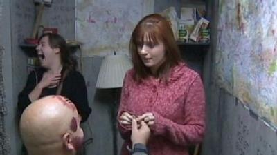 Man Proposes To Longtime Girlfriend Inside ScareHouse