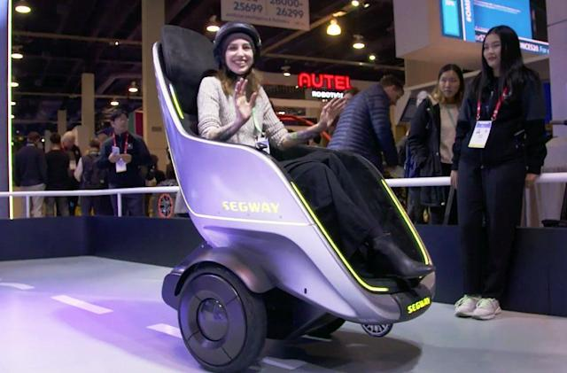 Segway's S-Pod is a ridiculous lounge chair on wheels