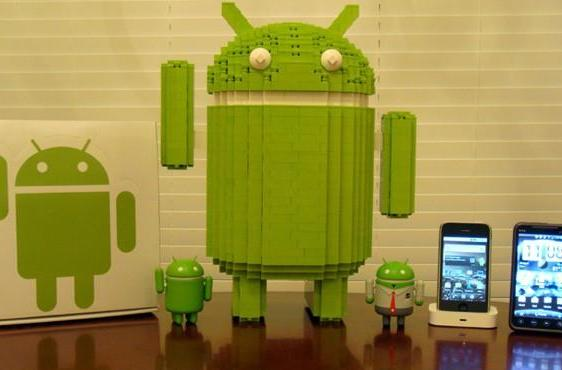 Lego Android is 15 inches tall, eats apples for breakfast
