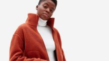 Everlane's new fall jackets are perfect for snuggling up in