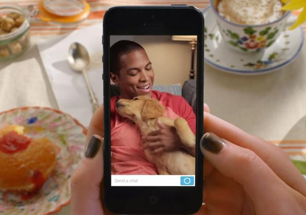 Snapchat now does video chat and IM, with self-destruct still included