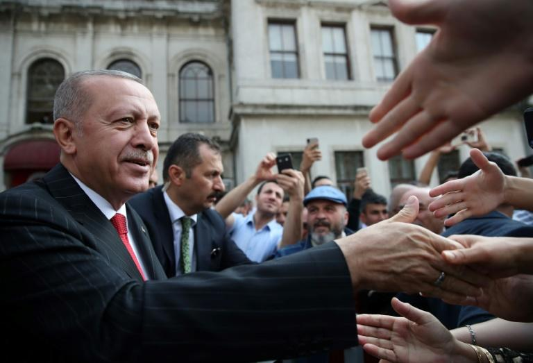 If the Kurds don't withdraw, Turkey will restart its operation 'the minute 120 hours are over' (AFP Photo/STRINGER)
