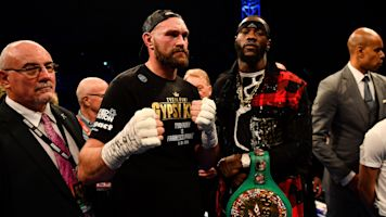 Heavyweight champs Wilder, Fury to fight