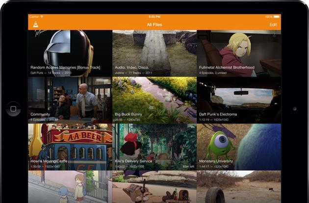VLC gets one-touch playback controls and a fresh new interface on iOS 7