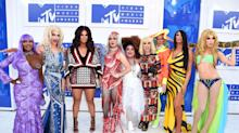 The 'RuPaul's Drag Race' Queens Serve VMAs Realness on MTV's White Carpet